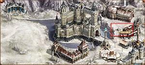 Двар: Декабрь - Декабрь - зимняя пори - Эльдрик под ёлкой в поместье